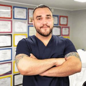 Spec. dr oftalmologije Branislav Lukić